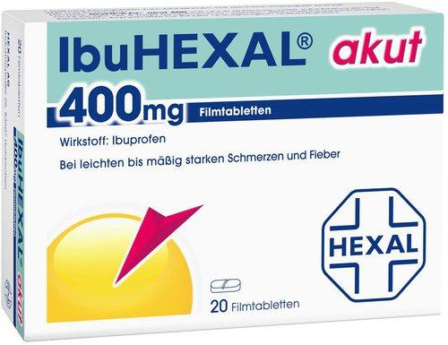Hexal AG Ibu Akut 400 Filmtabletten (PZN 68972)