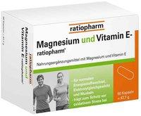 ratiopharm Magnesium & Vitamin E Kapseln (PZN 3935530)
