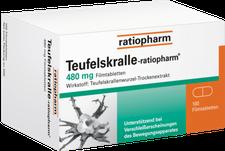 ratiopharm Teufelskralle Tabletten (PZN 162889)