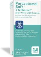 1A Pharma Paracetamol Saft (100 ml)