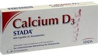 STADA Calcium D3 Kautabletten (20 Stk.)