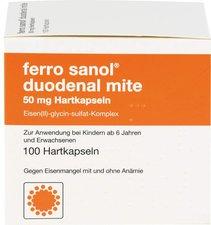 SANOL Ferro duo mite 50 mg Kapseln (100 Stk.)