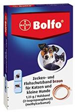 Bayer Bolfo Flohschutzband für kl. Hunde und Ka...