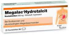 Krewel Megalac Hydrotalcit Kautabl. (20 Stück)