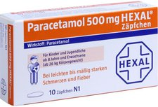 Hexal Paracetamol 500 Zaepfchen (10 Stück)
