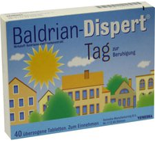 SOLVAY Baldrian Dispert Tag Tabl.Ueberzogen 40 Stück