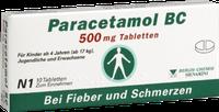 Berlin-Chemie Paracetamol Bc 500 mg Tabletten (10 Stk.)