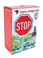 BIG Mega Verkehrszeichen-Set