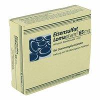 Lomapharm Eisensulfat 65 mg Tabletten (100 Stk.)