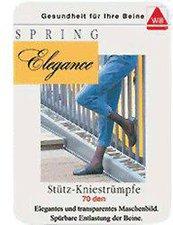 Spring Medical Elegance Kniestrümpfe 140 Den 40/41 schwarz