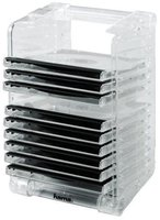 Hama CD-Rack & Stack 12, Transparent (48004)