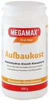Megamax Aufbaukost Banane Pulver (500 g)