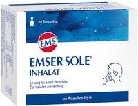 Emser Sole Inhalat Ampullen (20 Stück)