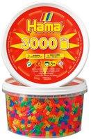 malte haaning Plastic Perlen 3000 Stück - neonfarben