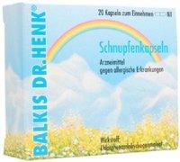 DOLORGIET Balkis Schnupfenkapseln (20 Stück)