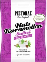 WEPA Pectoral Salbei-Bonbons zuckfrei (60 g)