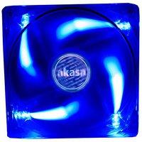 Akasa Blue LED Case Fan 80mm (AK-170CB-4BLS)