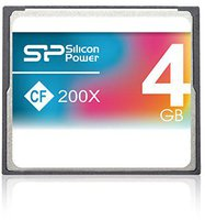 Silicon Power Compact Flash Card Professional 4 GB 200x