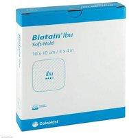 Coloplast Biatain Ibu Schaumverband 10 x 10 cm Sanft (5 Stk.)