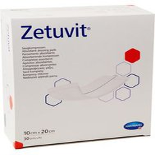 Hartmann Zetuvit Saugkompresse Unsteril 10 x 20 cm (30 Stk.)