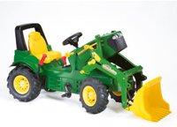 Rolly Toys Trettraktor Farmtrac John Deere mit Lader und Luftbereifung (7930)