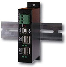 Exsys USB 2.0 industrie 4 Port Hub (EX-1163HM)