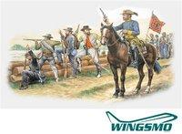 Italeri Truppen der Konföderierten - Amerikanischer Bürgerkrieg 1861-1865 (06014)