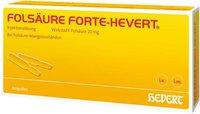 Hevert Folsäure forte Amp. (20 x 2 ml)