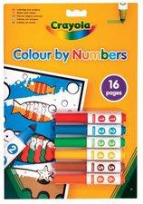 Crayola Malen nach Zahlen Malbuch