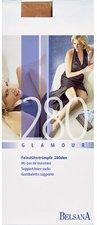 BELSANA Glamour 280den Kniestrumpf S nougat