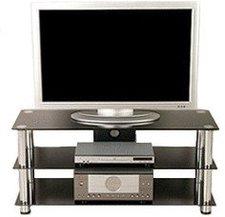 Movit Design TV-Rack in Schwarzglas-Optik (6624)